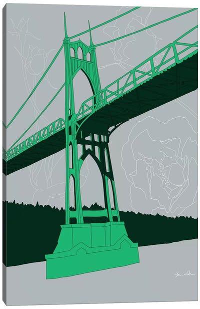 St. Johns Bridge - Portland Canvas Art Print