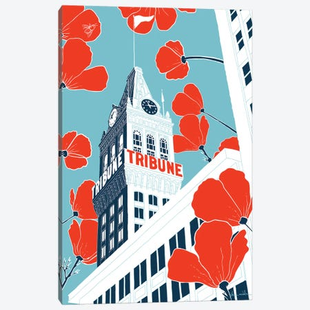 Tribune Tower - Oakland Canvas Print #SDN4} by Shane Donahue Canvas Print