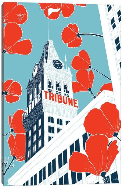 Tribune Tower - Oakland Canvas Art Print