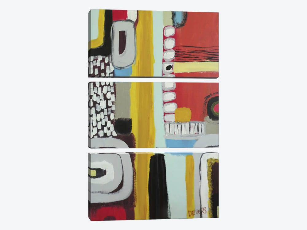 Chemins by Sylvie Demers 3-piece Canvas Art