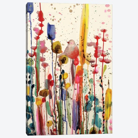 Ce Doux Matin Canvas Print #SDS113} by Sylvie Demers Canvas Art Print