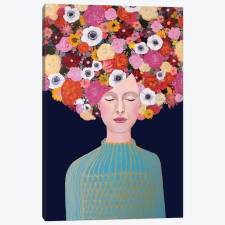 Celeste Canvas Print #SDS114} by Sylvie Demers Canvas Art