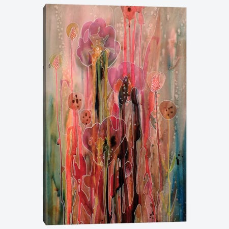 Chercher La Lumiere Canvas Print #SDS116} by Sylvie Demers Canvas Artwork