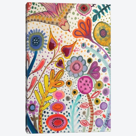 Depuis L'Aurore Canvas Print #SDS118} by Sylvie Demers Canvas Art Print