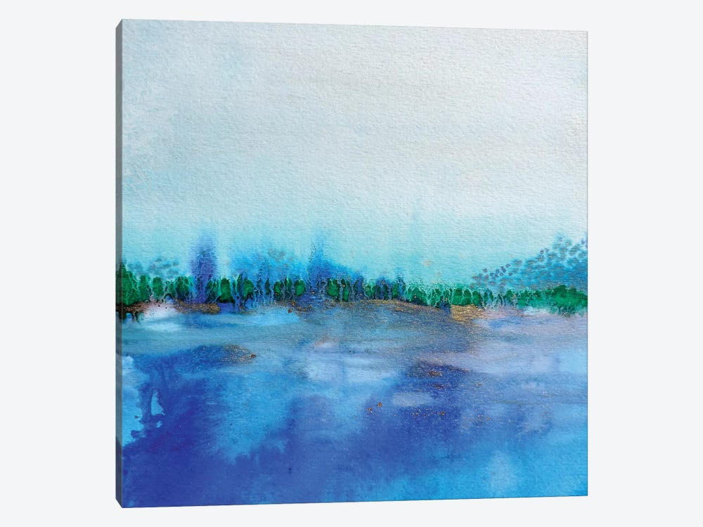 Eau I by Sylvie Demers 1-piece Canvas Art Print