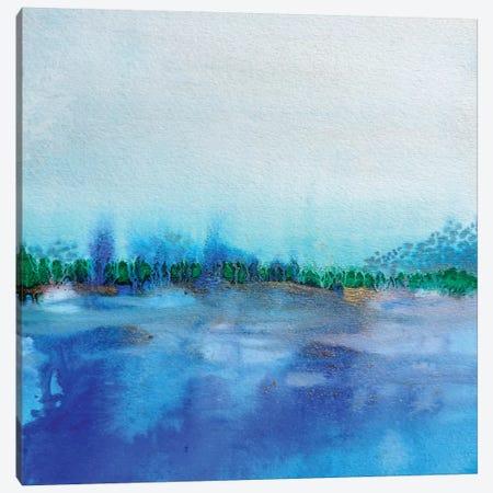 Eau I Canvas Print #SDS119} by Sylvie Demers Canvas Print