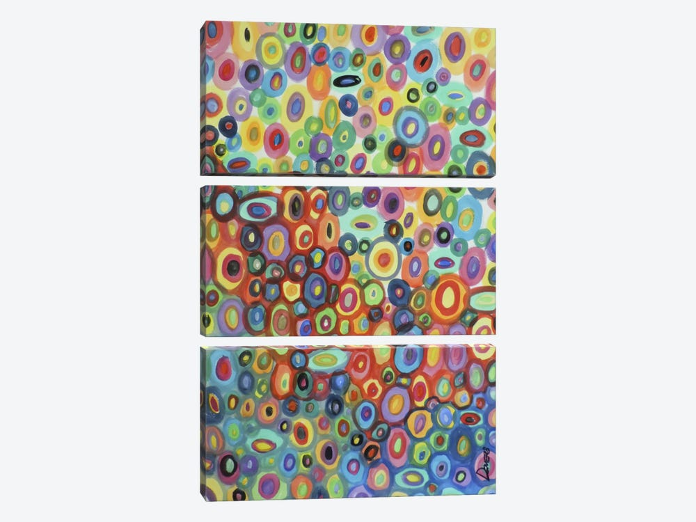 First Love by Sylvie Demers 3-piece Canvas Art Print