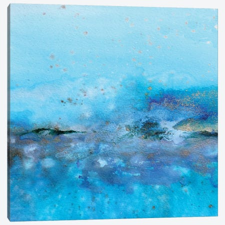 Eau II Canvas Print #SDS120} by Sylvie Demers Canvas Art