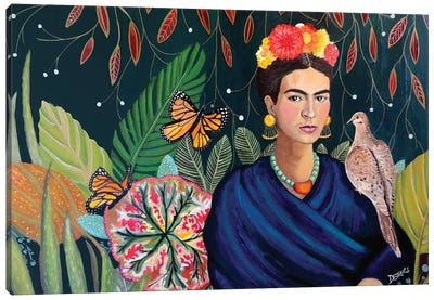 Frida Canvas Art Print