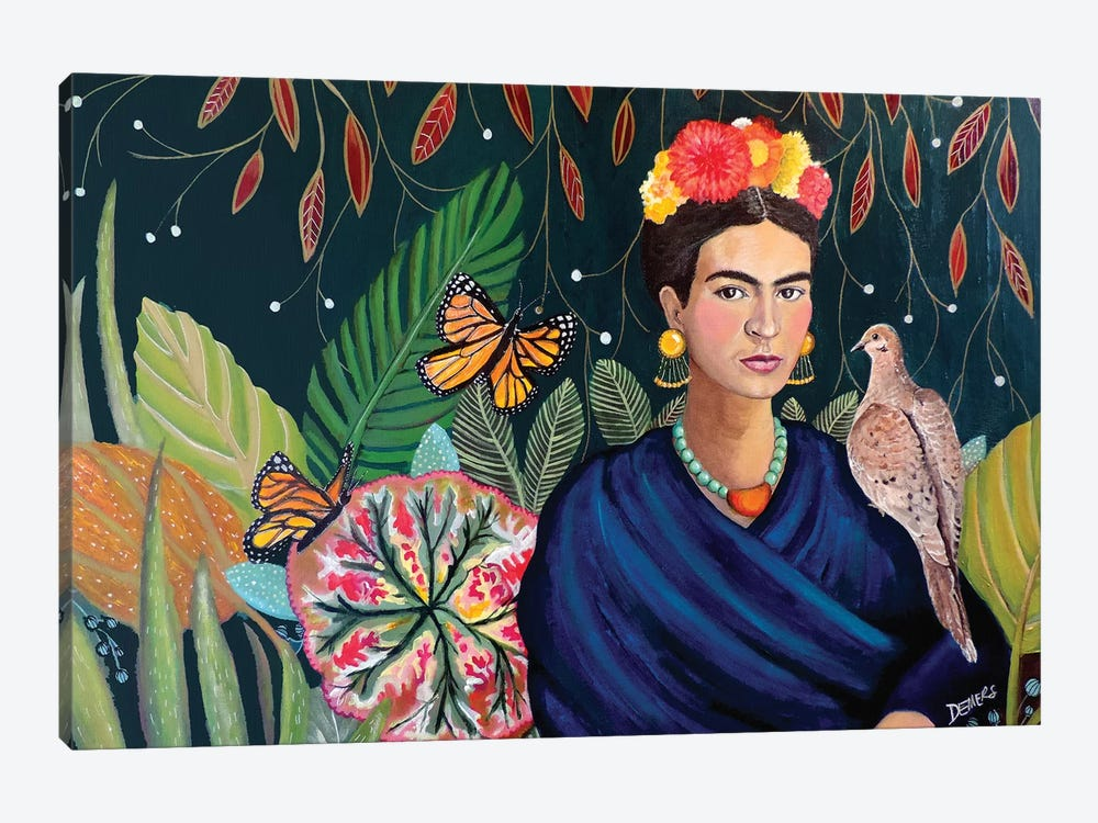 Frida by Sylvie Demers 1-piece Art Print
