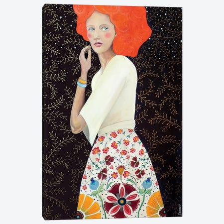 Isadora Canvas Print #SDS134} by Sylvie Demers Canvas Art