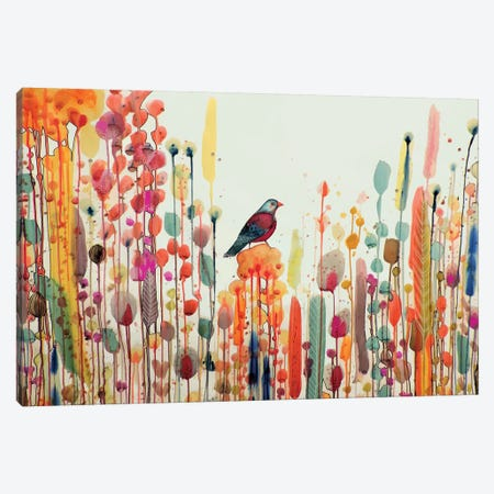 Joie De Vivre Canvas Print #SDS136} by Sylvie Demers Canvas Artwork