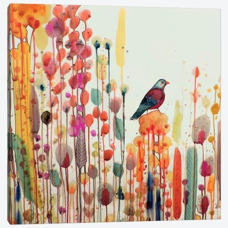 Joie De Vivre Carre Canvas Print #SDS137} by Sylvie Demers Canvas Art
