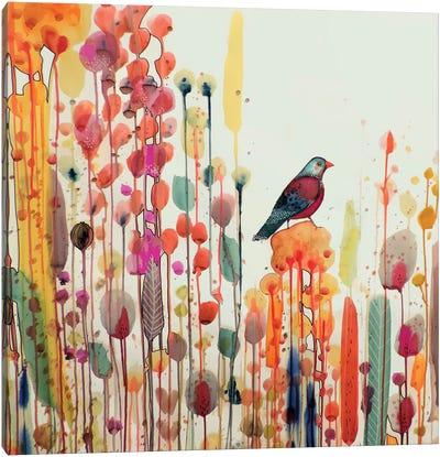 Joie De Vivre Carre Canvas Art Print