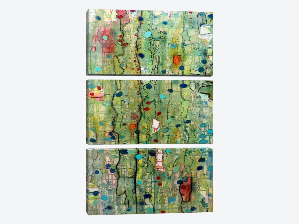 In Vitro by Sylvie Demers 3-piece Art Print