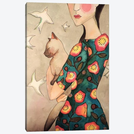 La Reverie Canvas Print #SDS140} by Sylvie Demers Canvas Art