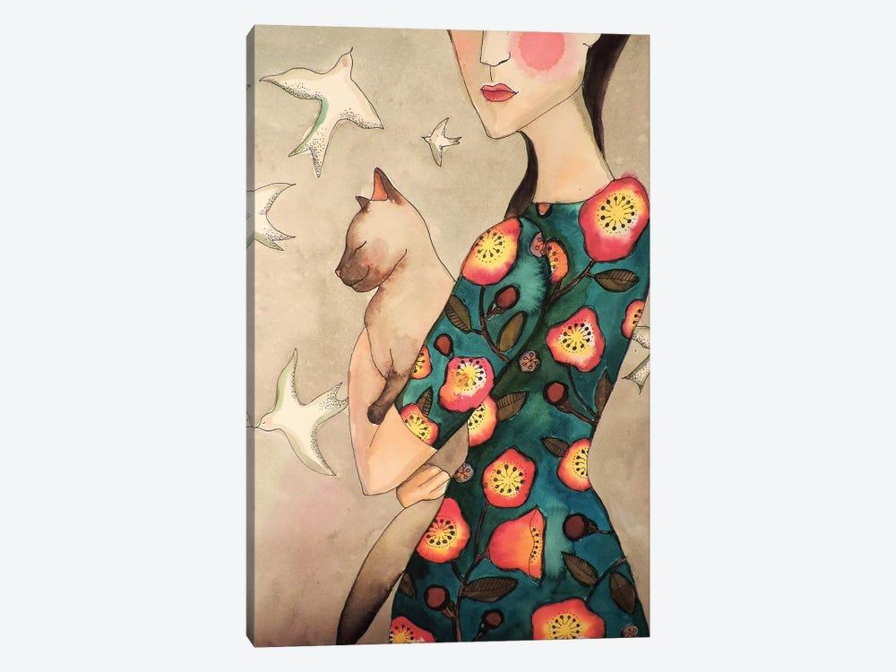 La Reverie by Sylvie Demers 1-piece Canvas Art Print