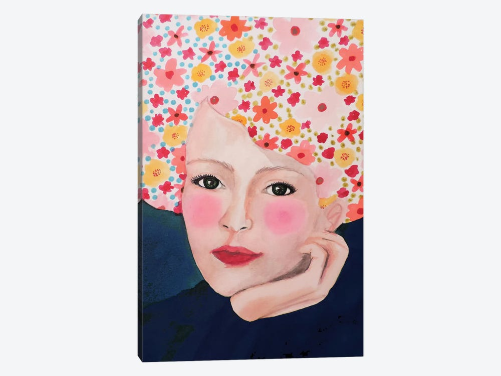 Laure by Sylvie Demers 1-piece Canvas Wall Art
