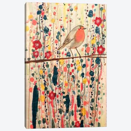 Je Ne Suis Pas Qu'un Oiseau Canvas Print #SDS14} by Sylvie Demers Canvas Print
