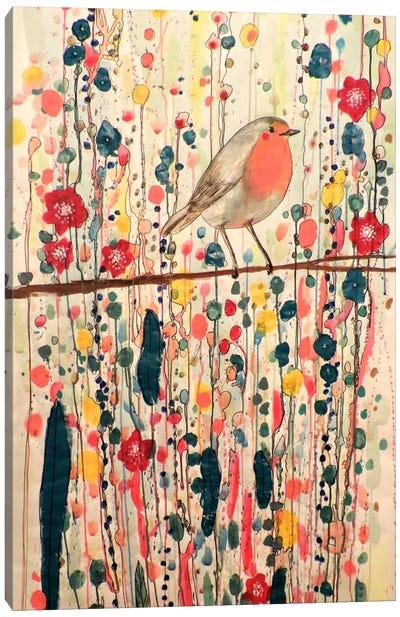 Je Ne Suis Pas Qu'un Oiseau Canvas Art Print