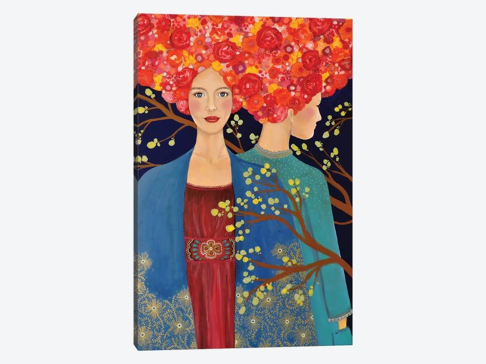 Les Ames Soeurs by Sylvie Demers 1-piece Canvas Art