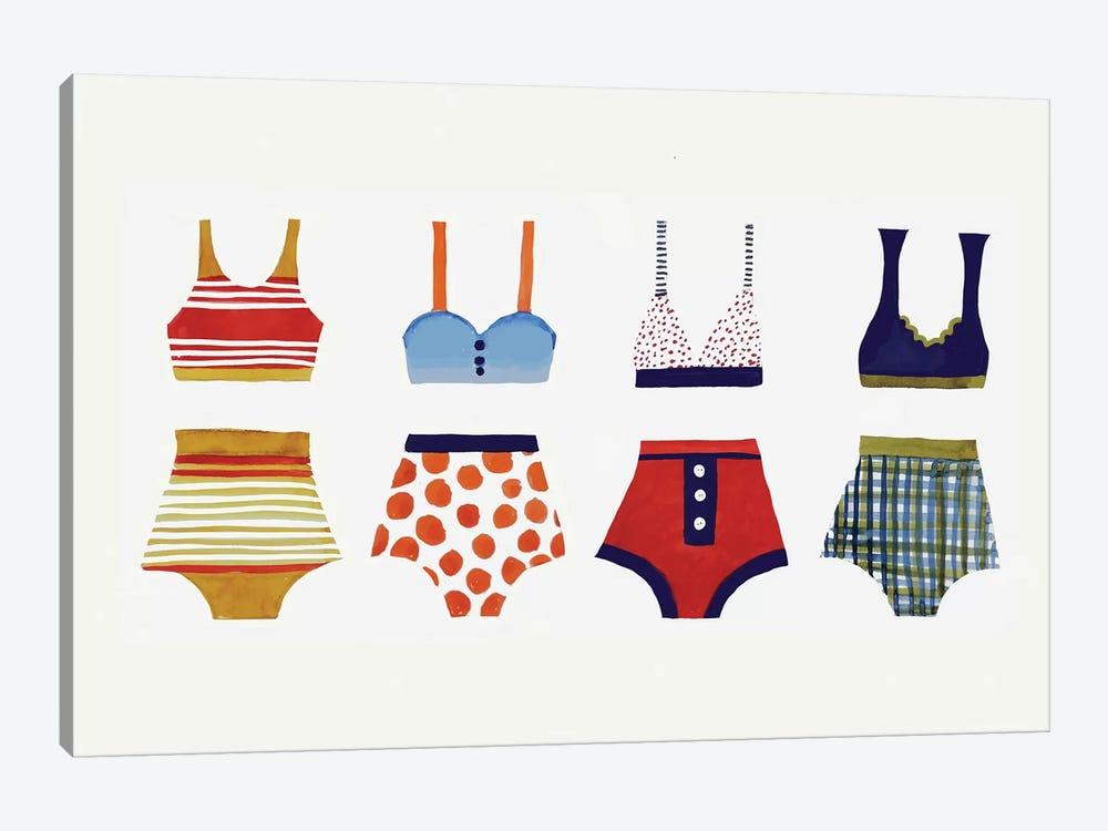 Les Bikinis by Sylvie Demers 1-piece Art Print