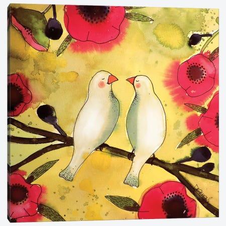 Les Poètes Canvas Print #SDS153} by Sylvie Demers Canvas Print