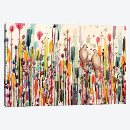 L'un Pour L'autre Canvas Print #SDS160} by Sylvie Demers Canvas Art