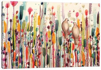 L'un Pour L'autre Canvas Art Print