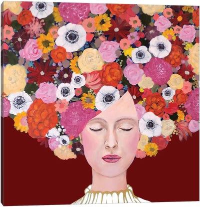 Mes Pensées Canvas Art Print