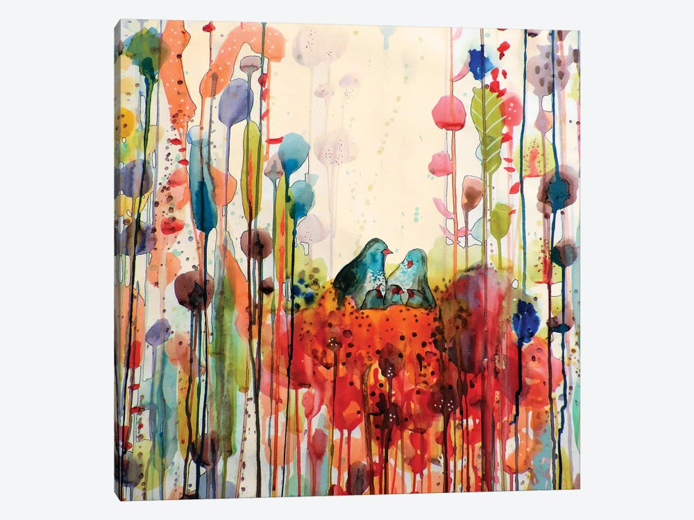 Nest by Sylvie Demers 1-piece Art Print