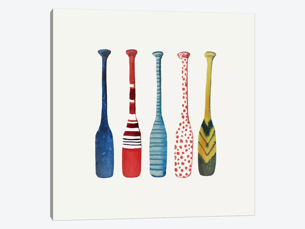 Paddle by Sylvie Demers 1-piece Canvas Artwork
