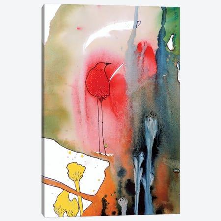 Quietude 3-Piece Canvas #SDS173} by Sylvie Demers Canvas Print
