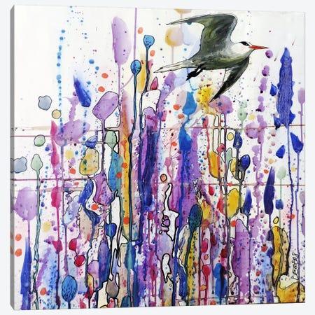 Libre Voie Canvas Print #SDS17} by Sylvie Demers Canvas Art Print