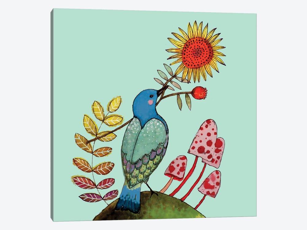 Sunflower by Sylvie Demers 1-piece Art Print