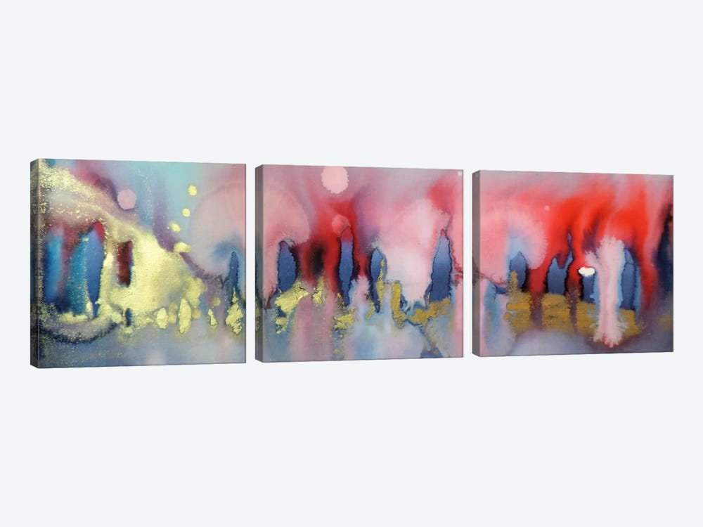 Chinook by Sylvie Demers 3-piece Canvas Artwork