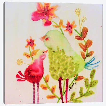 Chouchou Canvas Print #SDS186} by Sylvie Demers Art Print
