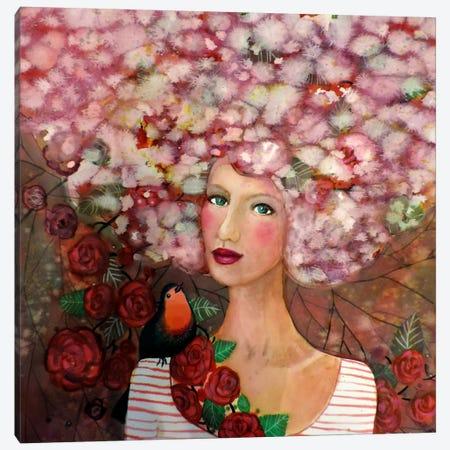 Delphine Canvas Print #SDS187} by Sylvie Demers Canvas Art Print