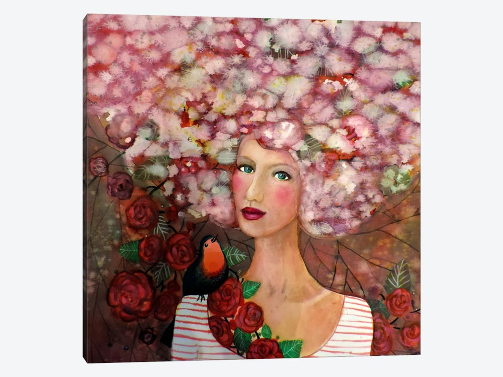 Delphine by Sylvie Demers 1-piece Canvas Art