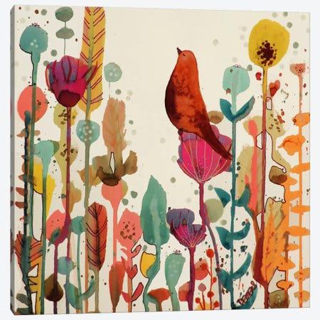 Encore un Peu de Temps Canvas Print #SDS189} by Sylvie Demers Canvas Artwork