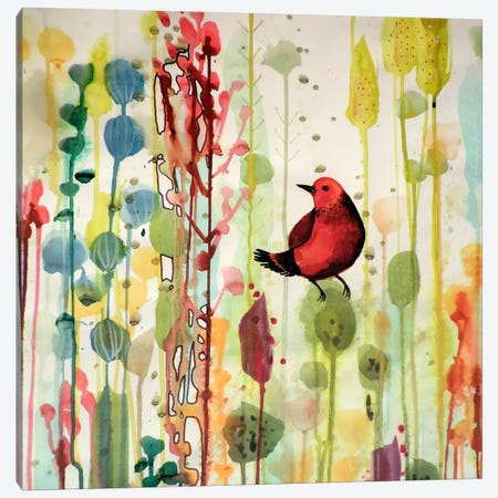 Esperanto, Close Up Canvas Print #SDS191} by Sylvie Demers Art Print