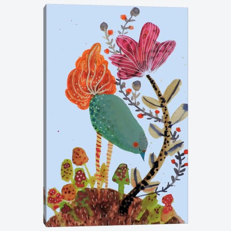 Herboriste Canvas Print #SDS193} by Sylvie Demers Art Print