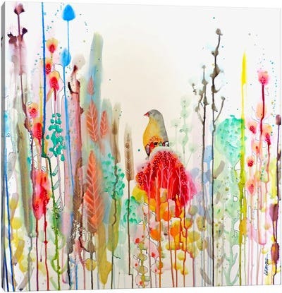 J'ai Rêvé de Vous Canvas Art Print
