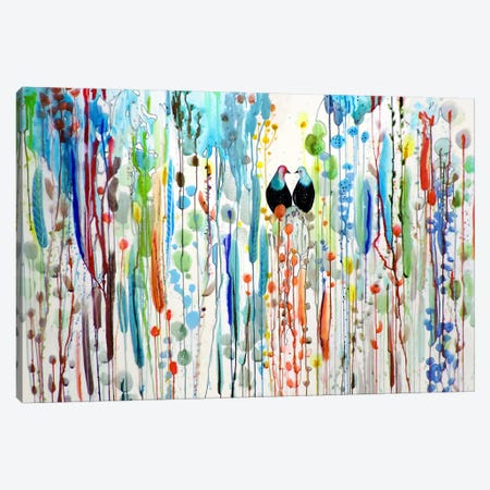 La Belle Histoire Canvas Print #SDS196} by Sylvie Demers Canvas Artwork