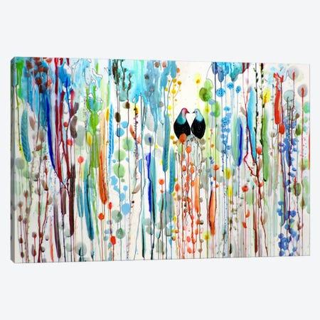 La Belle Histoire Canvas Print #SDS196} by Sylvie Demers Canvas Artwork