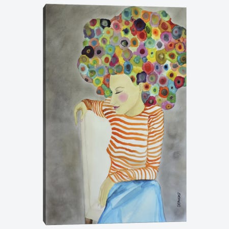 Marion Canvas Print #SDS19} by Sylvie Demers Canvas Art