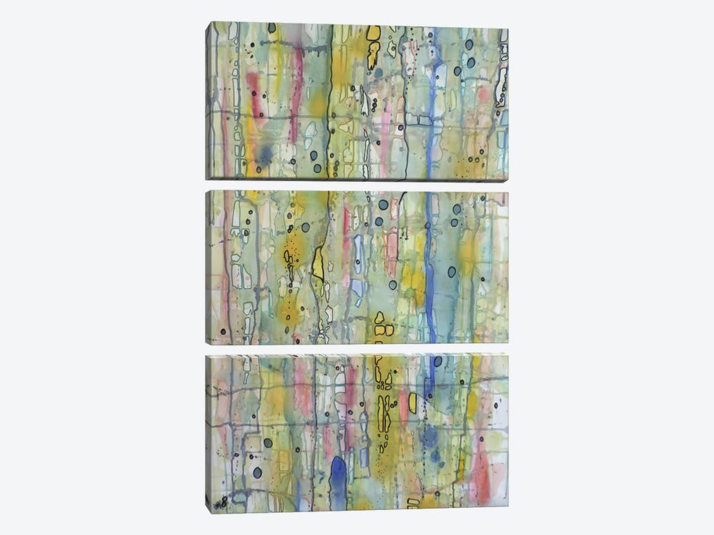 Air du Temps I by Sylvie Demers 3-piece Canvas Wall Art