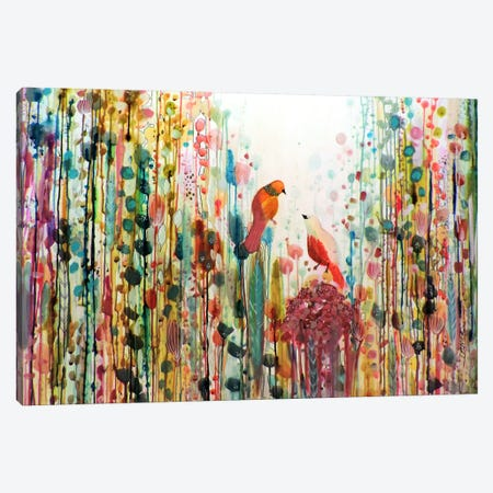 La Romance Canvas Print #SDS200} by Sylvie Demers Art Print