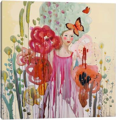 Les Temps Presents Canvas Art Print