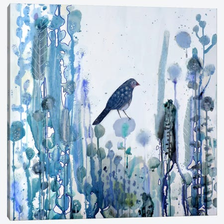 L'heure Bleue Canvas Print #SDS205} by Sylvie Demers Canvas Wall Art